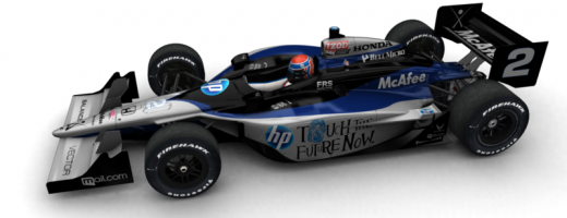 Announcing the 2010 Luczo Dragon Racing / HP IndyCar!