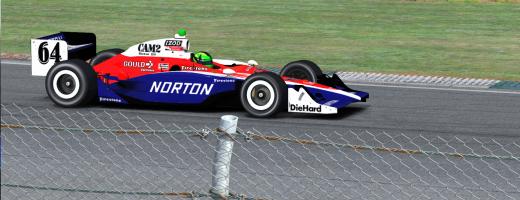 1978 Norton Spirt, 2010 Dallara Style!