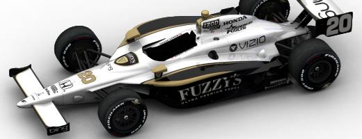 Dragon Racing 2011 Indy 500 Designs