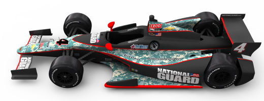 Panther Racing's 2012 National Guard Livery Unveiled!