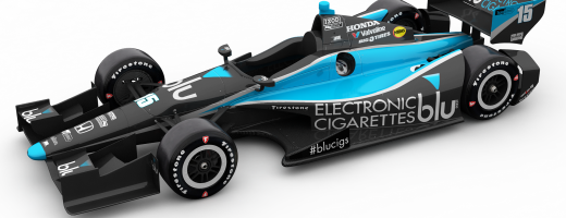 Graham Rahal's Blu eCigs Grand Prix of Houston Livery